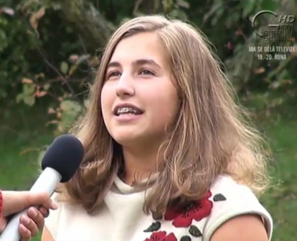 Alžběta Bartáková v rozhovoru pro GymTV v září 2012