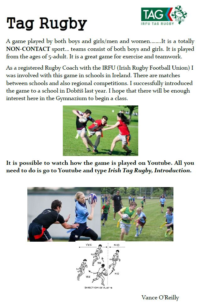 tag rugby vance